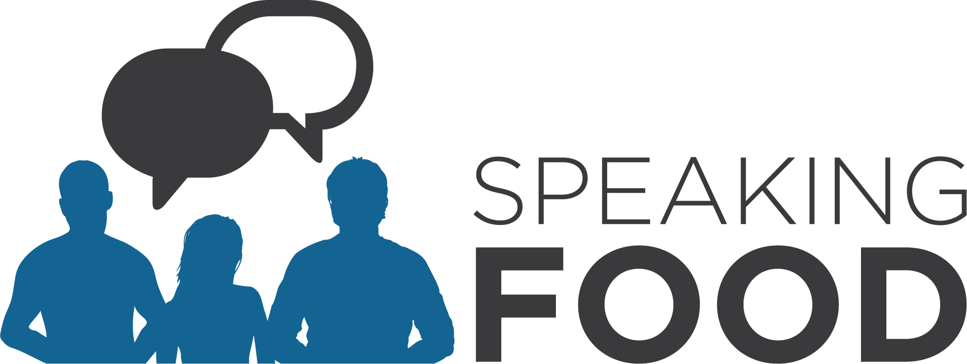 Speaking Food_LOGO - Blue-Black